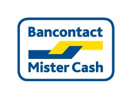 U kunt hier betalen met Mister Cash